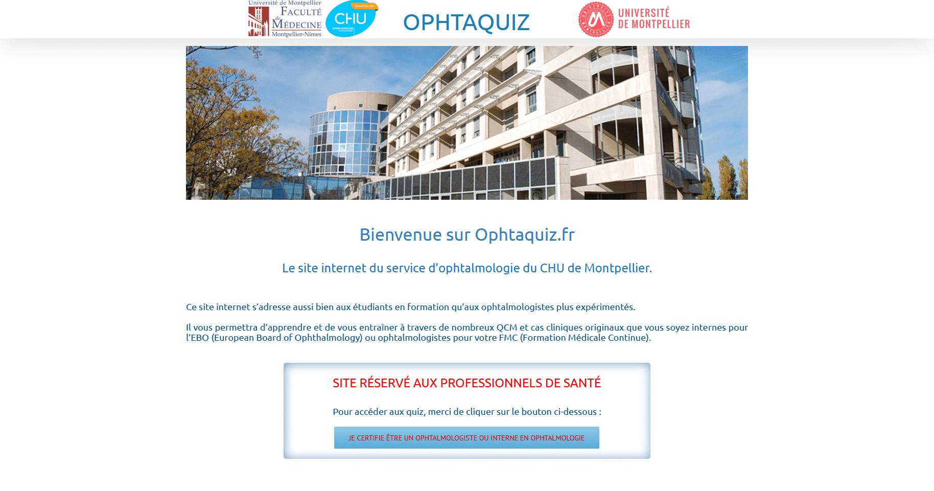 Ophtaquiz.fr