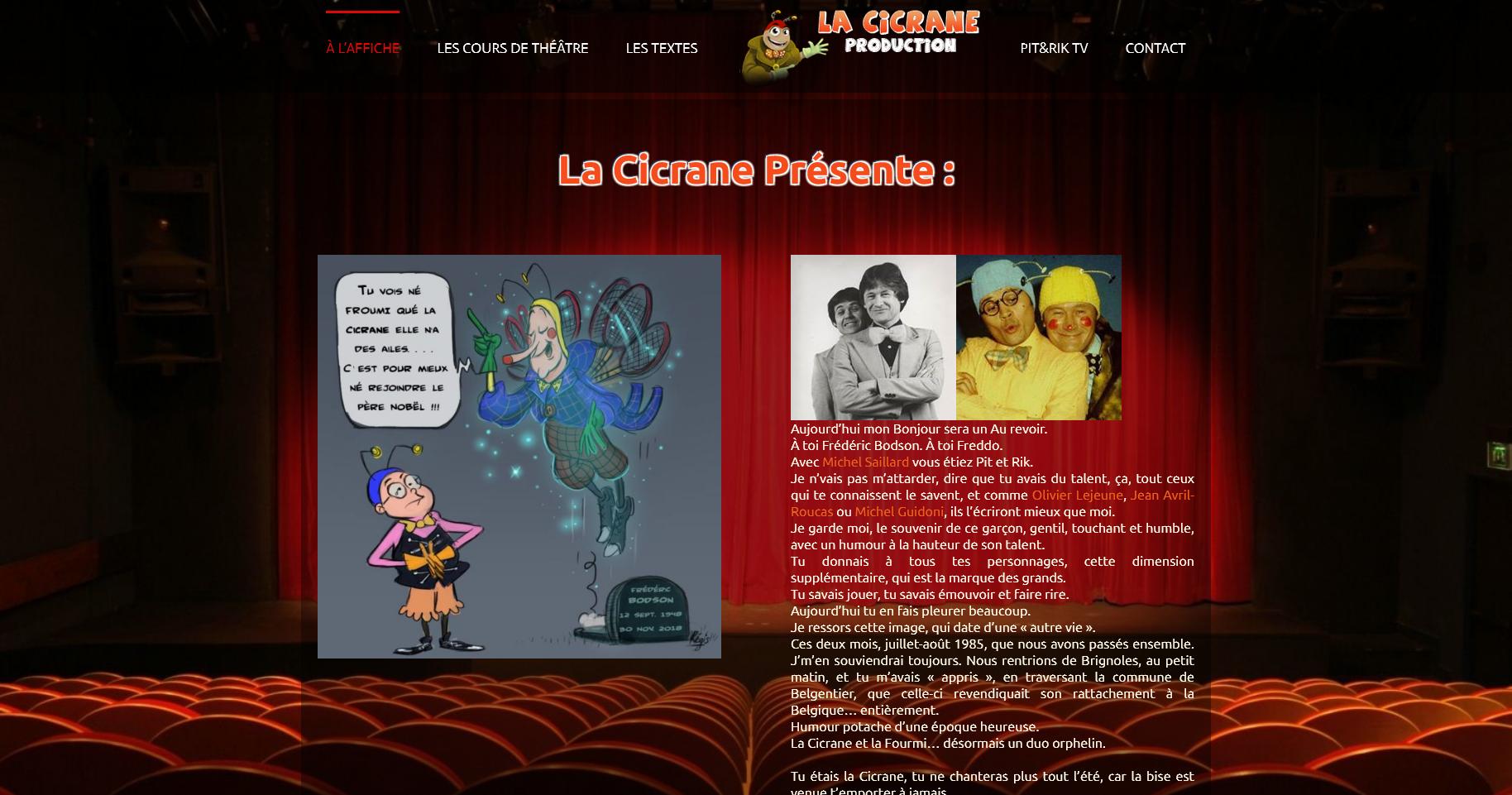 Cicrane-production.com